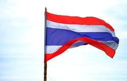 Drapeau de la Thaïlande Photographie stock