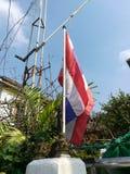 Drapeau de la Thaïlande Photo stock