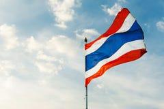 Drapeau de la Thaïlande Images stock