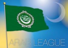 Drapeau de ligue arabe Image libre de droits