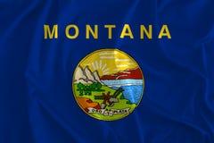 Drapeau de Montana Background, l'état de trésor, grand pays de ciel illustration de vecteur
