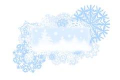 Drapeau de Noël image libre de droits