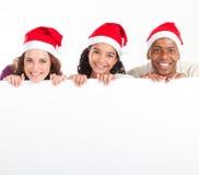 Drapeau de Noël Photographie stock libre de droits