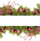 Drapeau de Noël Image stock