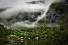 Drapeau de Norvegian photo libre de droits