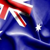 Drapeau de ondulation d'Australie illustration libre de droits