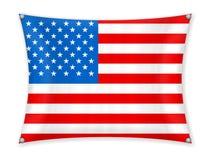 Drapeau de ondulation des Etats-Unis illustration de vecteur