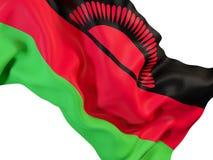 Drapeau de ondulation du Malawi illustration libre de droits