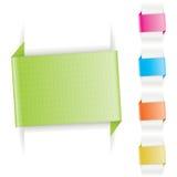 Drapeau de papier Photographie stock