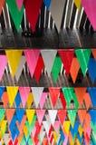 Drapeau de partie de Collorful Photographie stock