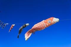 Drapeau 01 de poissons Photos stock