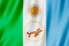 Drapeau de province de Chaco, Argentine Photo stock