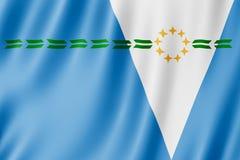Drapeau de province de Formose, Argentine Photos stock