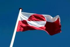 Drapeau de région du Groenland, l'Europe Image stock