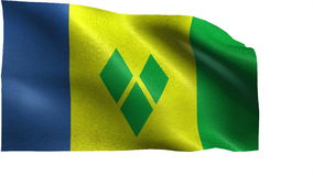 Drapeau de Saint-Vincent-et-les-Grenadines - BOUCLE
