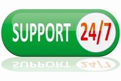 Drapeau de support Images stock