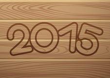 Drapeau de vecteur 2015 ans Image libre de droits