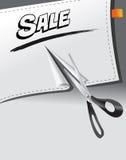 Drapeau de vente Image stock