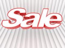 Drapeau de vente Images stock