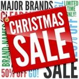 Drapeau de vente de Noël Photographie stock