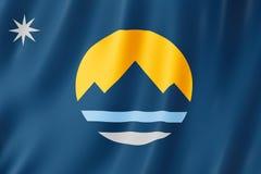 Drapeau de ville de Reno, Nevada USA illustration libre de droits