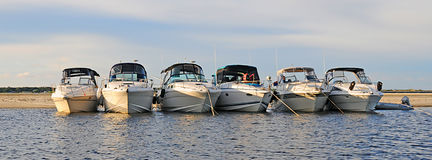 Drapeau de yacht Photos stock