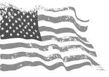 Drapeau des Etats-Unis illustration de vecteur