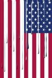 Drapeau des Etats-Unis Image libre de droits