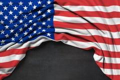 Drapeau des Etats-Unis Etats-Unis d'Amérique Photo stock
