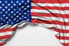 Drapeau des Etats-Unis Etats-Unis d'Amérique Photo libre de droits
