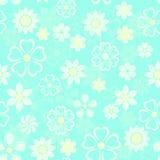 Drapeau des fleurs Background Photo stock
