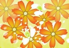 Drapeau des fleurs Background Images stock