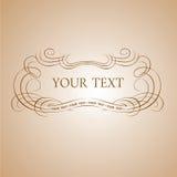 Drapeau des textes de calligraphie. Photographie stock