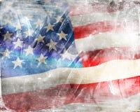 Drapeau des USA photo stock