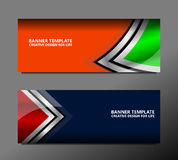 Drapeau Design Photographie stock
