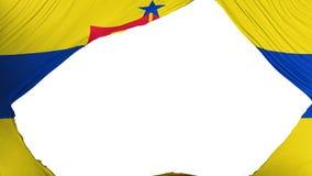 Drapeau divisé de capitale de Saint Paul illustration libre de droits