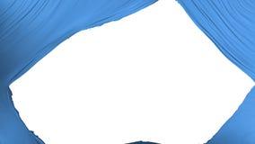 Drapeau divisé des Nations Unies illustration de vecteur