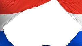 Drapeau divisé du Paraguay illustration libre de droits