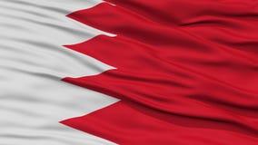 Drapeau du Bahrain de plan rapproché Image libre de droits