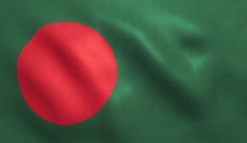 Drapeau du Bangladesh Images stock
