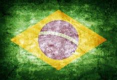 Drapeau du Brésil Photographie stock libre de droits