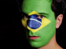 Drapeau du Brésil photos libres de droits