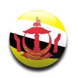 Drapeau du Brunei Photo libre de droits