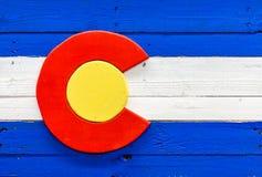 Drapeau du Colorado Image libre de droits