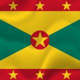 Drapeau du Grenada Vecteur Image libre de droits
