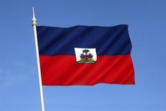 Drapeau du Haïti image libre de droits