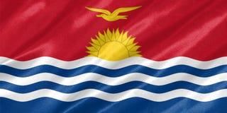 Drapeau du Kiribati images stock