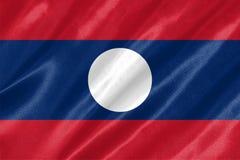 Drapeau du Laos image libre de droits