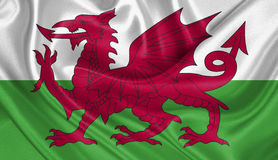 Drapeau du Pays de Galles Images libres de droits