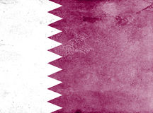 Drapeau du Qatar Photo stock